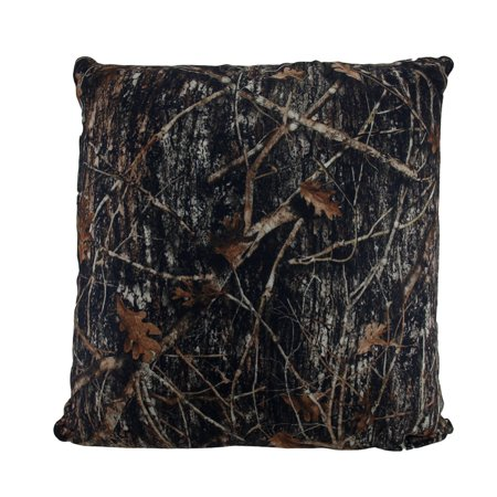 Brown Microfiber Throw Pillows : True Timber Camo Brown MC2 Pattern Microfiber Sherpa Throw Pillow 18 in. - Walmart.com