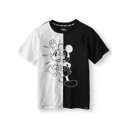 "Mickey ""Split Stance"" Short sleeve Licensed Tee (Little Boys & Big Boys)"