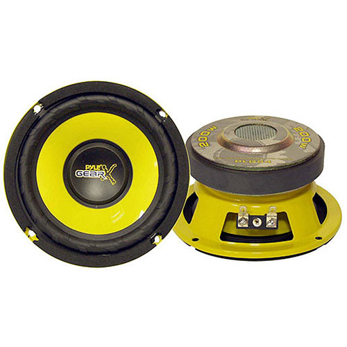 "Pyle Gear X Series 5"" 200W Mid-Bass Woofer"