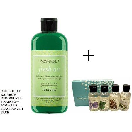 - Rainbow Fresh Air Deodorizer + Rainbow Assorted Fragrance scents