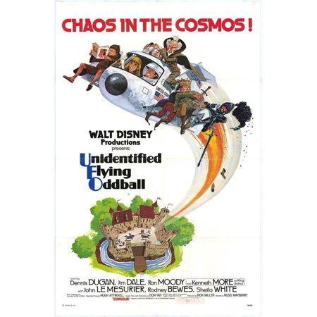 Unidentified Flying Oddball POSTER Movie (27x40)