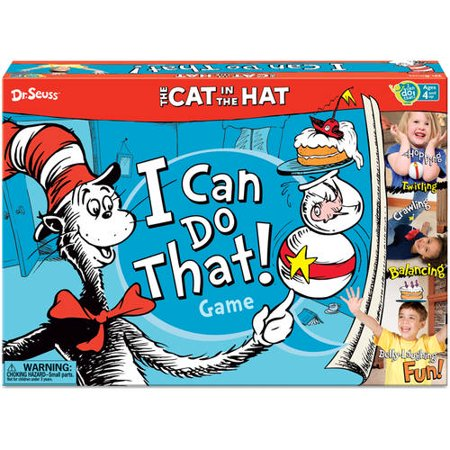 Dr  Seuss The Cat In The Hat I Can Do That  Game
