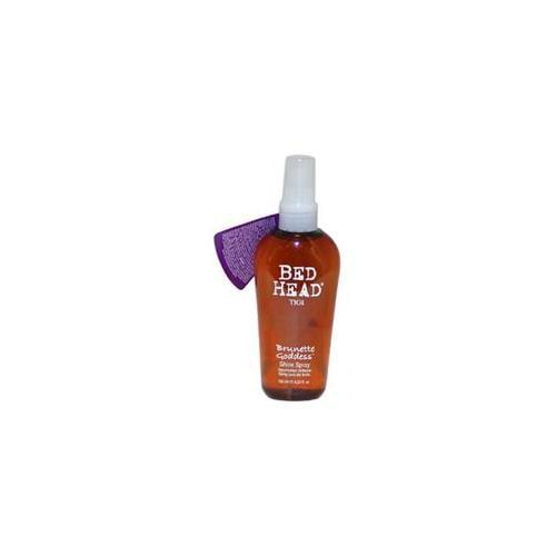 Bed Head Brunette Goddess Shine Spray by TIGI for Unisex - 4.23 oz Spray