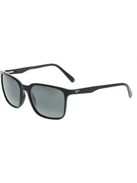 fa75647891 Free shipping. Product Image Maui Jim Polarized Wild Coast 756-02H Black  Square Sunglasses