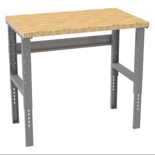 "TENNSCO WBAT-1-3048W Workbench,Butcher Block,48"" W,30"" D G0152778"