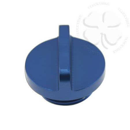 CNC Dexter Engine Oil Cap Blue For Yamaha YZF R6 R1 Seal CNC Aluminum Filler