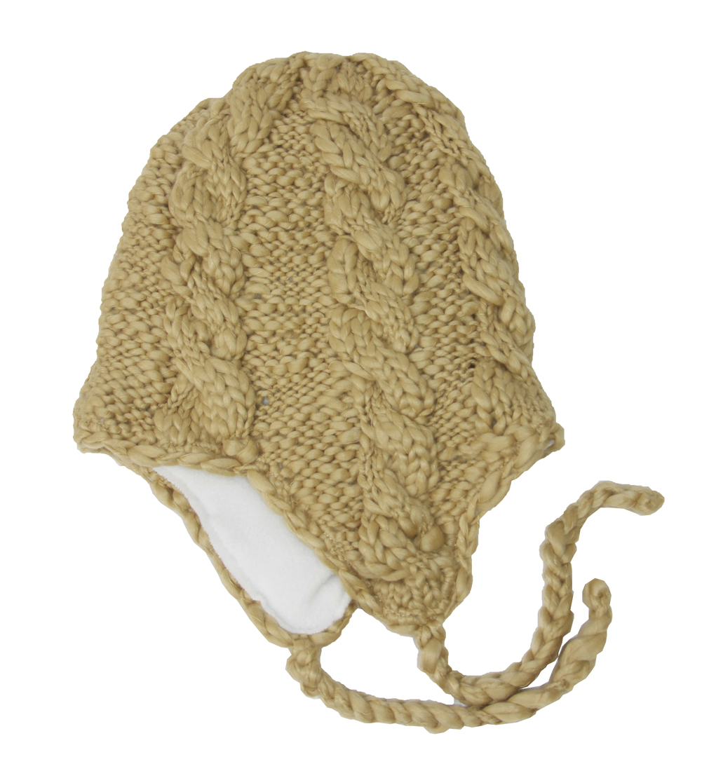 Broner Knit Macrame Soft Winter Hat