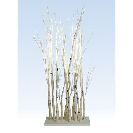 Melrose 50881   50881 Wh Electric Birch Branches