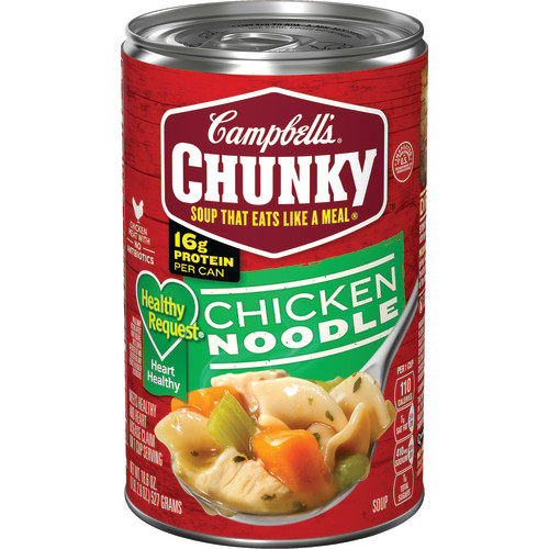 Campbell's Chunky Healthy Request Chicken Noodle Soup, 18.6 oz.