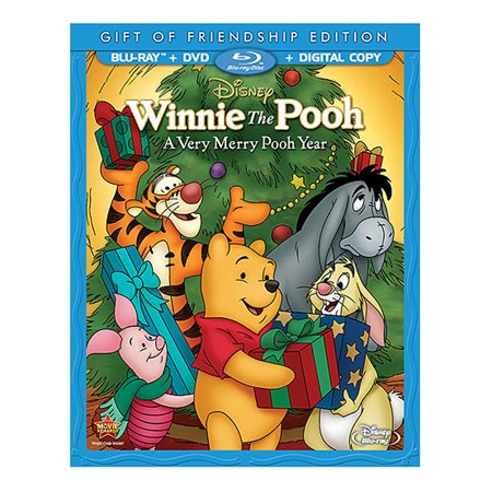 Winnie The Pooh: A Very Merry Pooh Year (Gift Of Friendship Edition) (Blu-ray + DVD + Digital - Winnie The Pooh Halloween Full Movie
