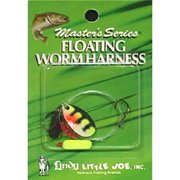 Little Joe Floating Worm Harness Fishing Lure Harness Perch Blade Yellow Black Float 36 inch length Snell