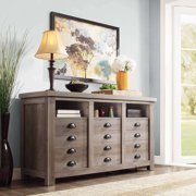 Better Homes And Gardens Granary Modern Farmhouse Printers TV Cabinet Multiple Finishes Image 3 Of