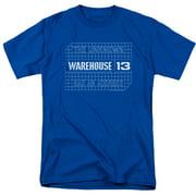 Warehouse 13 Blueprint Logo Mens Short Sleeve Shirt