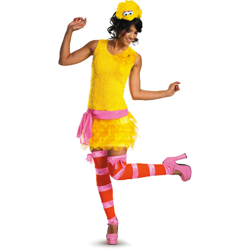 Disguise Big Bird Women Adult Halloween Costume