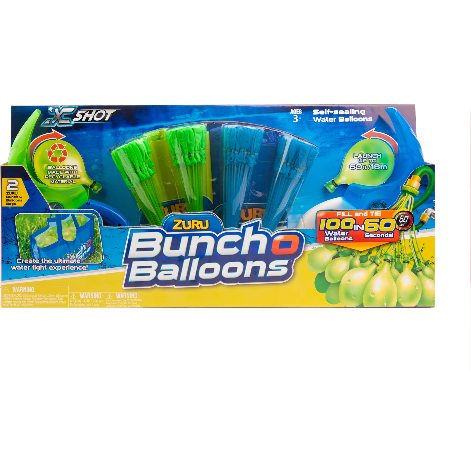 ZURU X-Shot Bunch O Balloons Launcher Value Pack