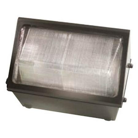 Hubbell 00568 - 150 watt 120/277 volt Bronze Metal Halide Refractor Wall Pack (WGH-150P) 175w Metal Halide Wallpack