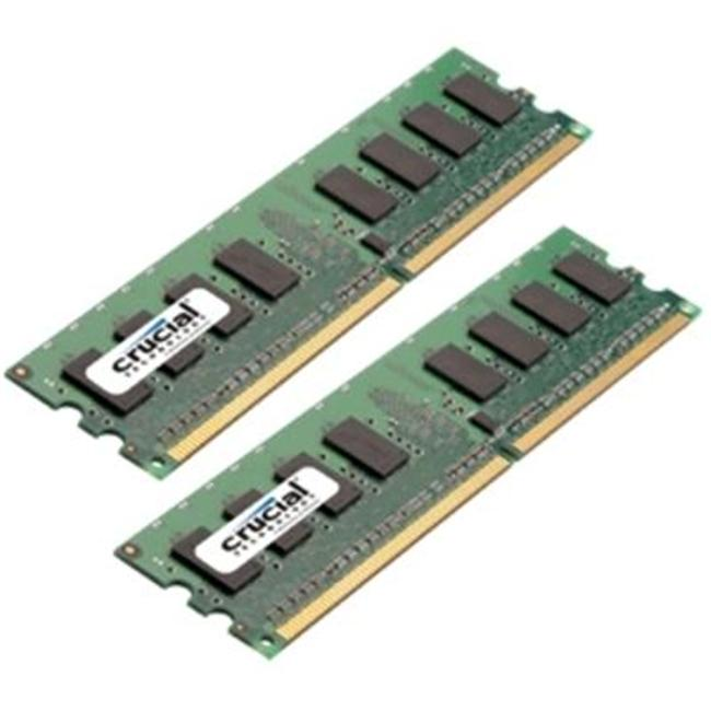 Crucial Technology 2GB 667MHZ DDR2 KIT CT2KIT12864AA667