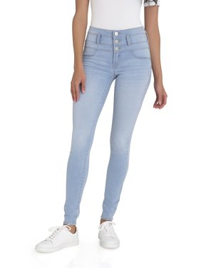 72be00c9bc2b Product Image No Boundaries Junior s Super Soft Triple Stack Jeans