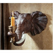 Elephant Wall Sconce - Set of Two