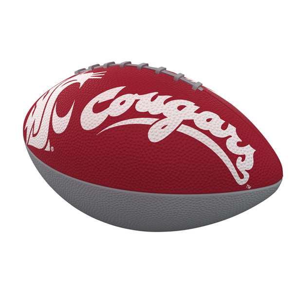 Washington State University Combo Logo Junior-Size Rubber Football