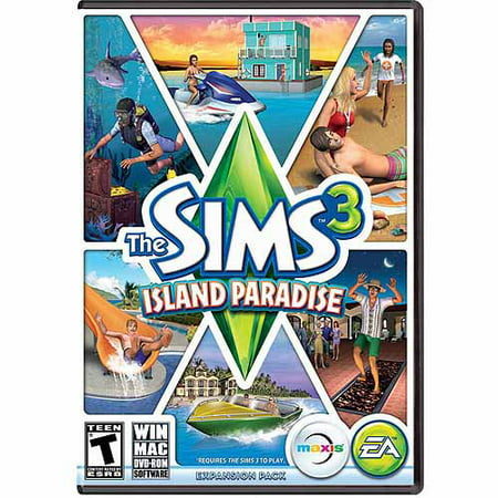 Electronic Arts Sims 3: Island Paradise Expansion Pack (Digital - The Sims 3 Seasons Halloween Decorations