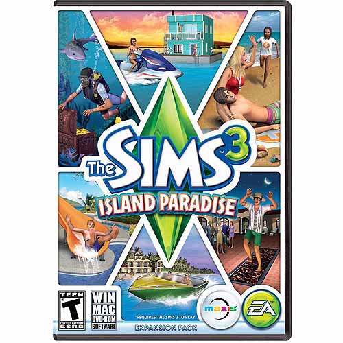 Electronic Arts Sims 3: Island Paradise Expansion Pack (Digital Code)
