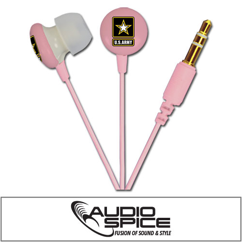 U.S. ARMY Ignition Earbuds - Pink
