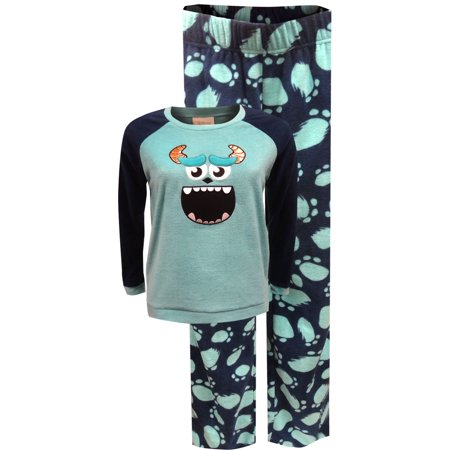 Disney Pixar Monsters Inc Sulley Fleece Pajamas - Sulley Monsters Inc