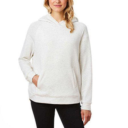 32 Degrees Ladies' Sherpa Lined Hoodie Medium Cream