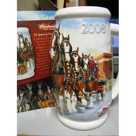 - Anheuser-Busch 2008 Holiday Stein, From Budweiser Holiday Stein Series By Budweiser,USA