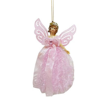 Angel Ornaments For Christmas Tree (Tuscom Christmas Wing Angel Doll Hanging Xmas Tree Pendants Ornaments Home)