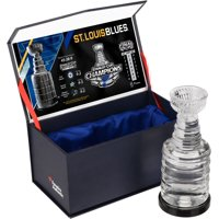 St. Louis Blues 2019 Stanley Cup Champions Crystal Stanley Cup - Filled with Ice from the 2019 Stanley Cup Final - Fanatics Authentic Certified