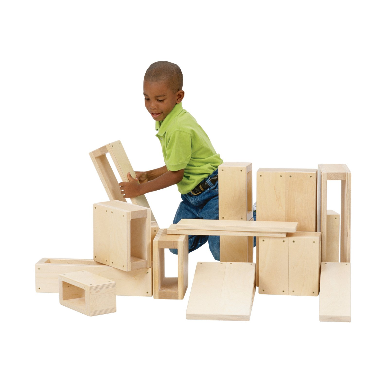 Guidecraft Jr Hollow Blocks