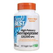 Best High Potency Serrapeptases - Doctor's Best High Potency Serrapeptase, Non-GMO, Gluten Free Review