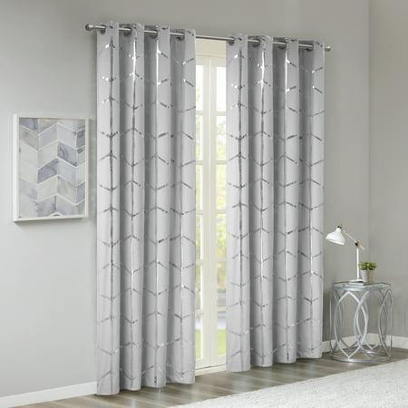 Home Essence Apartment Arielle Total Blackout Metallic Window Panel ()
