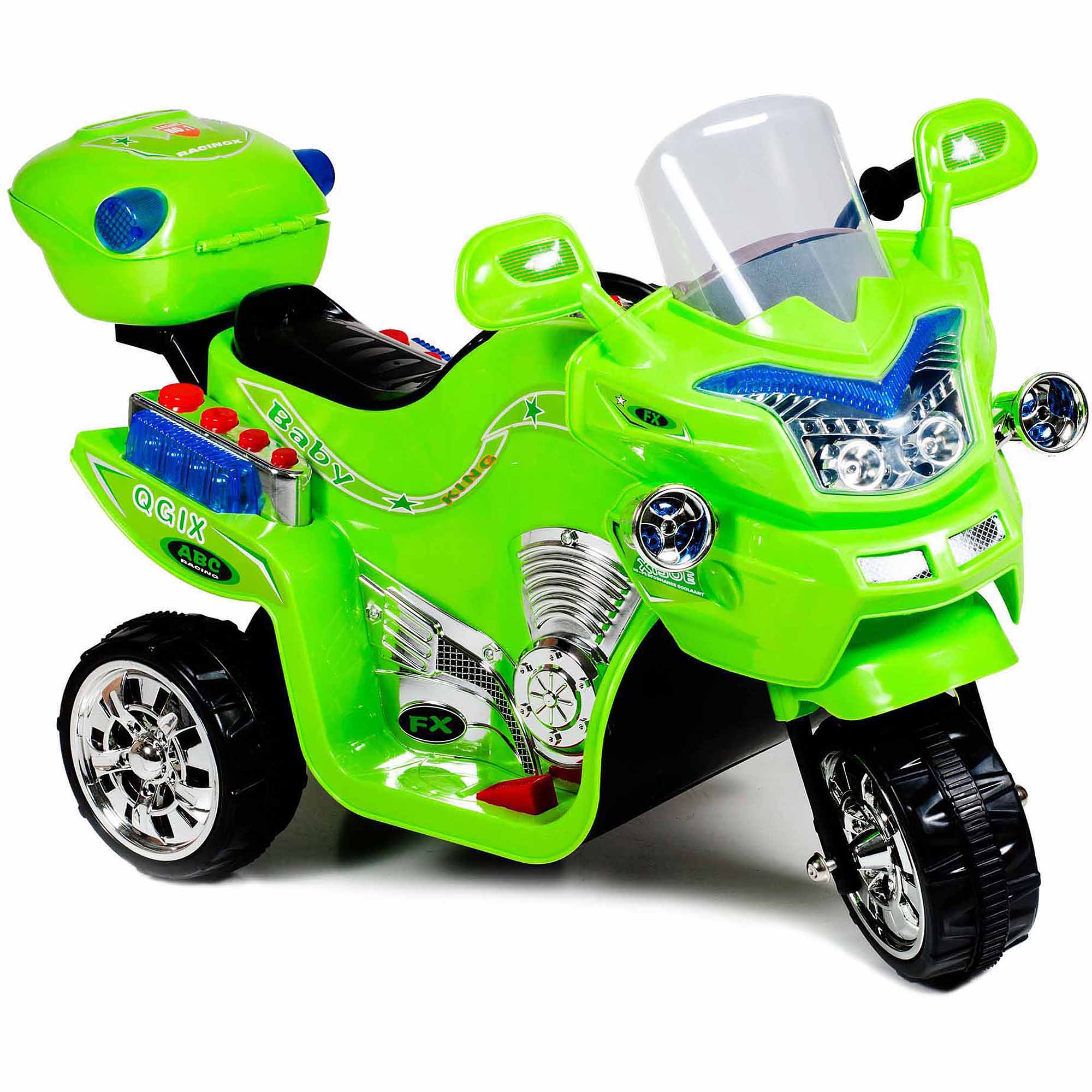 Lil' Rider FX 3-Wheel Battery Powered Bike, Green