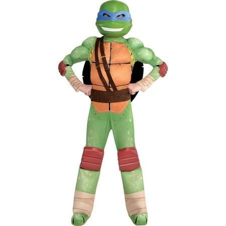 Cool Teenage Costumes For Halloween (Amscan Teenage Mutant Ninja Turtles Leonardo Muscle Halloween Costume for Boys, Small, with Included)