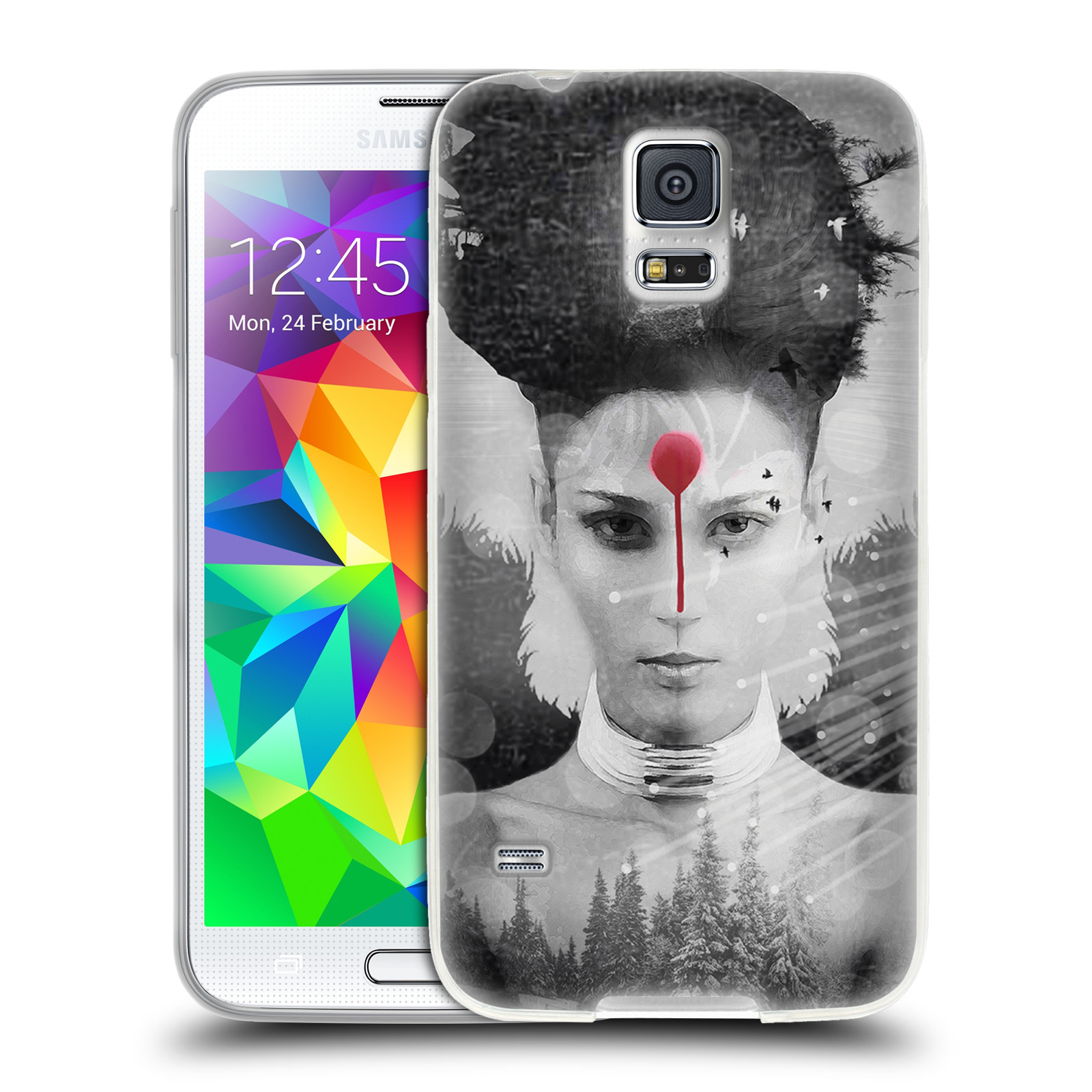 OFFICIAL VIN ZZEP DOUBLE EXPOSURE SOFT GEL CASE FOR SAMSUNG PHONES 1