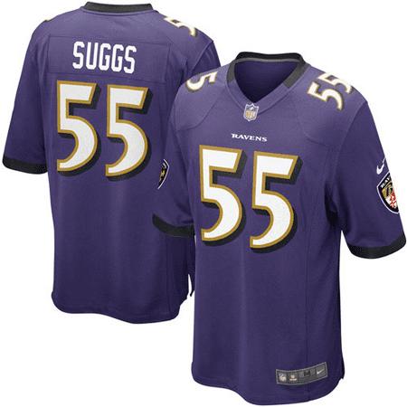 Terrell Suggs Baltimore Ravens Nike Youth Team Color Game Jersey - Purple -  Walmart.com 35e284384