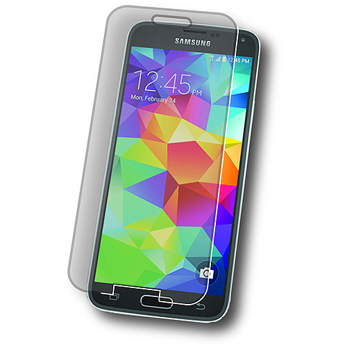 Symtek Tempered Glass Screen Protector for Galaxy S5