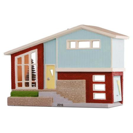 Hallmark Ornament 2016 Nostalgic House #33 -Split Level Dream Home