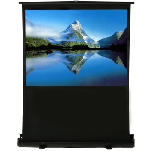 Elunevision White Portable Projection Screen