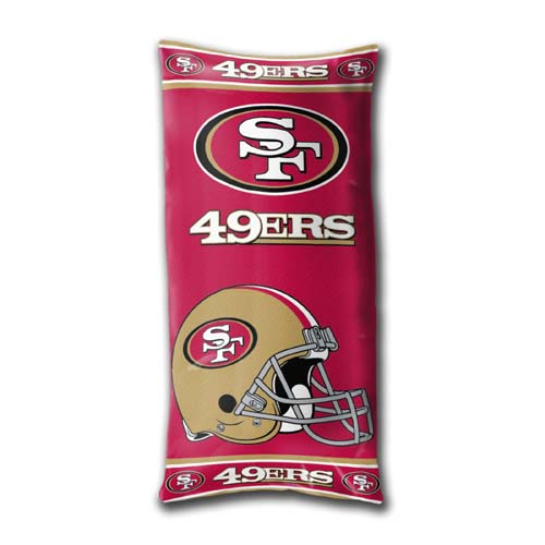 San Francisco 49ers YOUTH Body Pillow