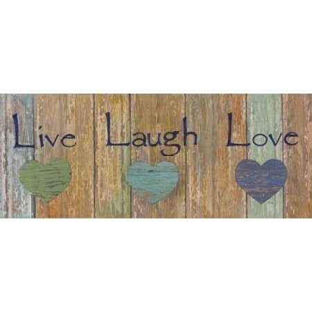 Live Laugh Love Canvas Art - Tava Studios ()