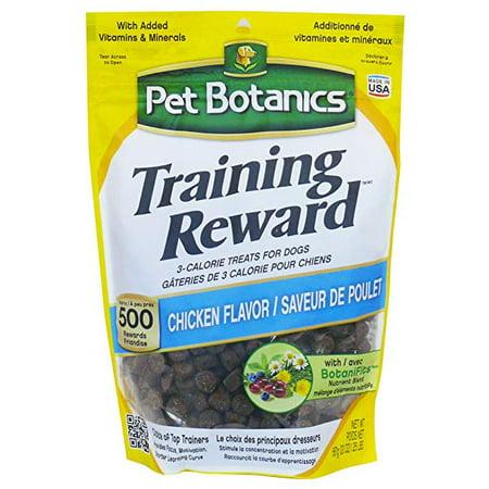 Pet Botanics Training Rewards Dog Treats chicken 20 oz (pack of
