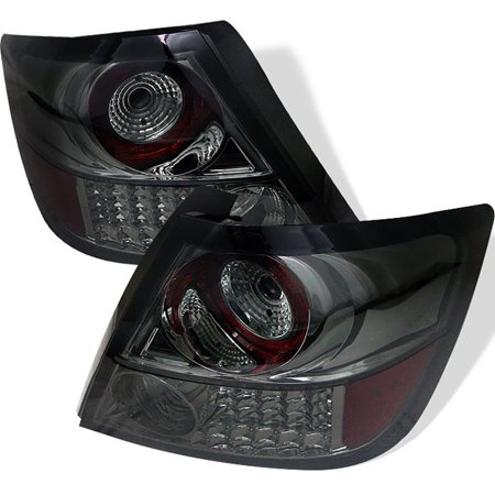 VIPMotoZ 2005-2010 Scion tC LED Off-Road Smoke Lens Tail Lights, Driver & Passenger Side