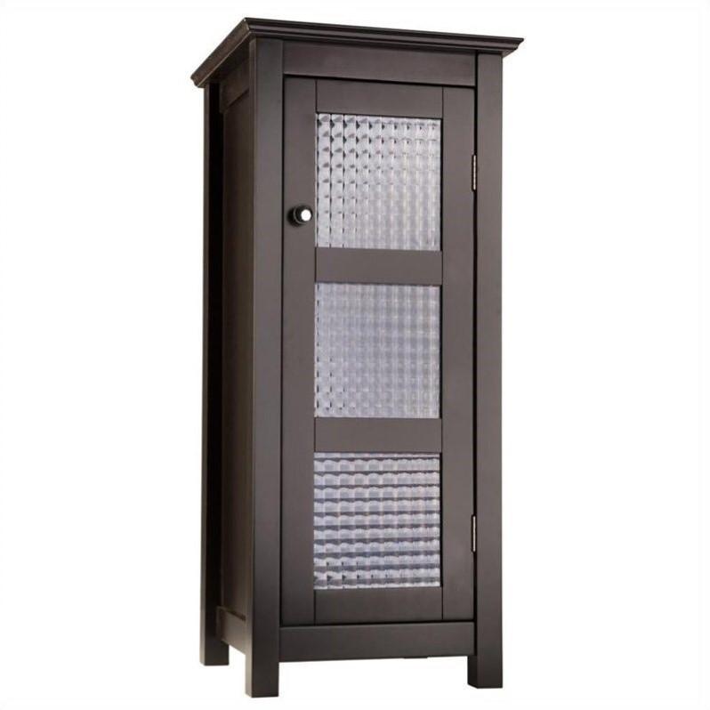 """Elegant Home Fashions Chesterfield 30"""" 1-Door Floor Cabin..."""