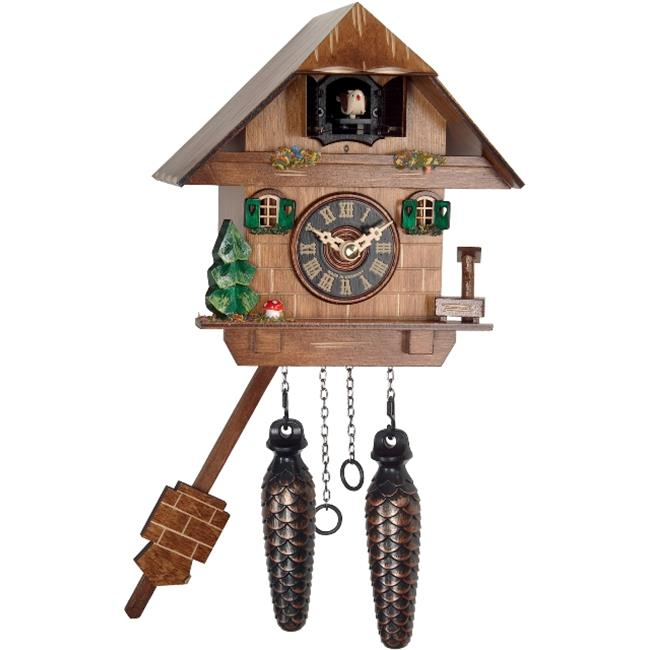 Alexander Taron 417Q Engstler Battery-operated Cuckoo Clock Full Size by Alexander Taron