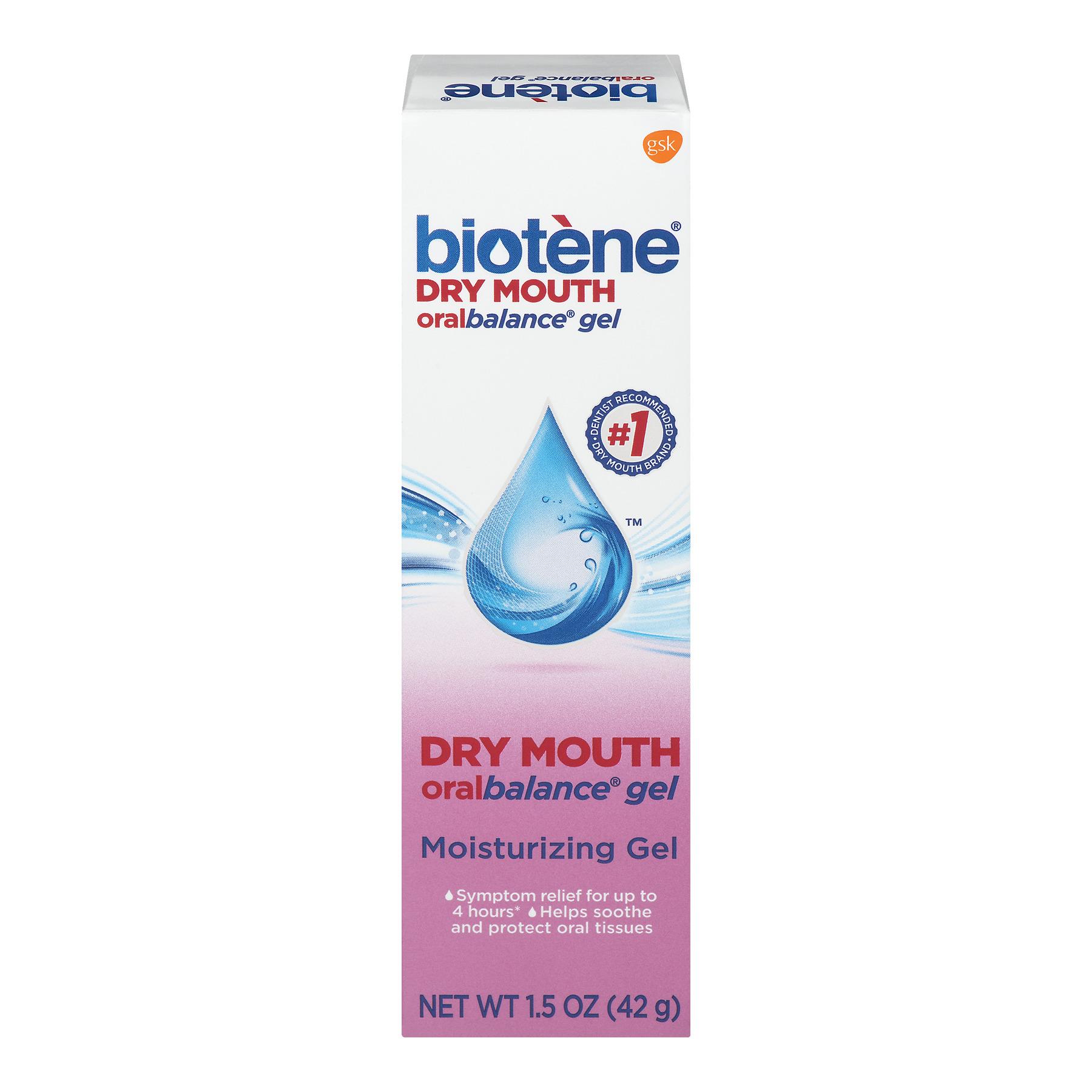 Biotene Dry Mouth Oral Balance Moisturizing Gel, 1.5 oz