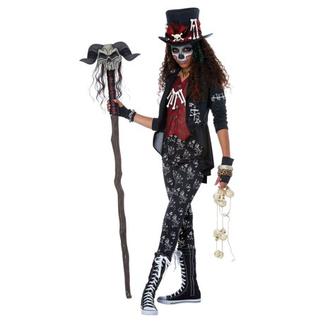 Voodoo Charm Girl Child Costume](Halloween Voodoo Costumes)